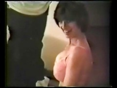 Her cuck husband got his wife two big black cocks to enjoy for her birthday