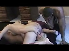 Awesome amateur young Czech girls fucking black cock with assholes