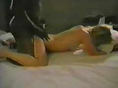 Hot mature sex with my kinky wife slammed with black cock from behind