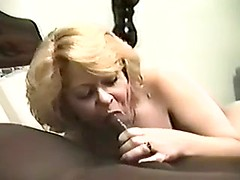 Dirty amateur cougar starves for wild interracial sex with big black dick