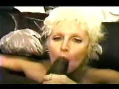 Vintage interracial compilation with a big breasts milf and her black lovers