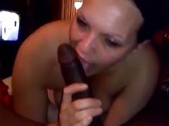 Busty married white girl with a wedding ring cheats with BBC in her wet mouth